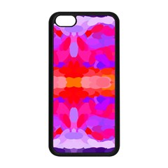 Purple, Pink And Orange Tie Dye  By Celeste Khoncepts Com Apple iPhone 5C Seamless Case (Black)