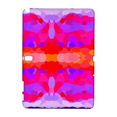 Purple, Pink And Orange Tie Dye  By Celeste Khoncepts Com Samsung Galaxy Note 10.1 (P600) Hardshell Case