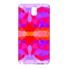 Purple, Pink And Orange Tie Dye  By Celeste Khoncepts Com Samsung Galaxy Note 3 N9005 Hardshell Back Case