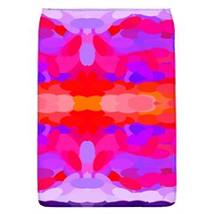 Purple, Pink And Orange Tie Dye  By Celeste Khoncepts Com Removable Flap Cover (small)