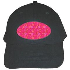 Psychedelic Kaleidoscope Black Baseball Cap