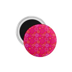 Psychedelic Kaleidoscope 1 75  Button Magnet