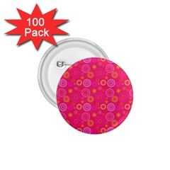 Psychedelic Kaleidoscope 1.75  Button (100 pack)