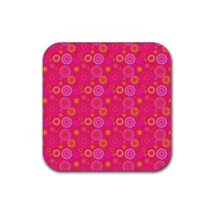 Psychedelic Kaleidoscope Drink Coasters 4 Pack (Square)