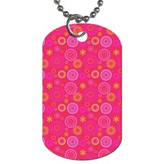 Psychedelic Kaleidoscope Dog Tag (Two-sided)