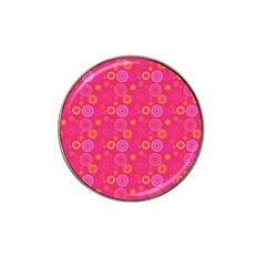 Psychedelic Kaleidoscope Golf Ball Marker 4 Pack (for Hat Clip)