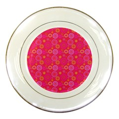 Psychedelic Kaleidoscope Porcelain Display Plate