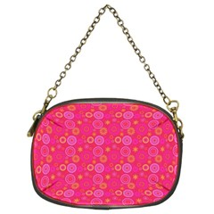 Psychedelic Kaleidoscope Chain Purse (two Sided)