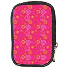 Psychedelic Kaleidoscope Compact Camera Leather Case