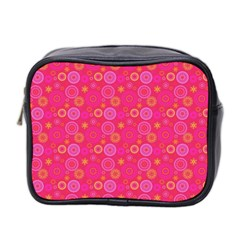 Psychedelic Kaleidoscope Mini Travel Toiletry Bag (Two Sides)