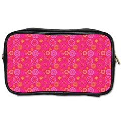 Psychedelic Kaleidoscope Travel Toiletry Bag (One Side)