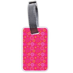 Psychedelic Kaleidoscope Luggage Tag (one Side)