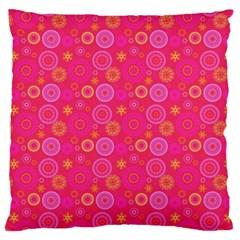 Psychedelic Kaleidoscope Large Cushion Case (single Sided)