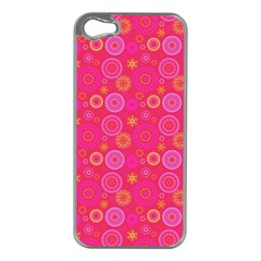 Psychedelic Kaleidoscope Apple Iphone 5 Case (silver)