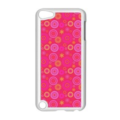 Psychedelic Kaleidoscope Apple iPod Touch 5 Case (White)