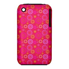 Psychedelic Kaleidoscope Apple iPhone 3G/3GS Hardshell Case (PC+Silicone)