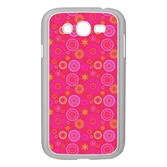 Psychedelic Kaleidoscope Samsung Galaxy Grand DUOS I9082 Case (White)