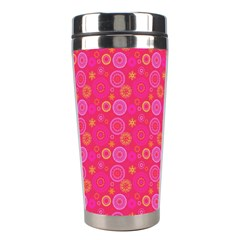 Psychedelic Kaleidoscope Stainless Steel Travel Tumbler