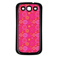 Psychedelic Kaleidoscope Samsung Galaxy S3 Back Case (black)
