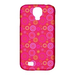 Psychedelic Kaleidoscope Samsung Galaxy S4 Classic Hardshell Case (pc+silicone)