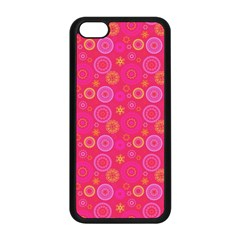 Psychedelic Kaleidoscope Apple iPhone 5C Seamless Case (Black)