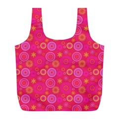 Psychedelic Kaleidoscope Reusable Bag (l)