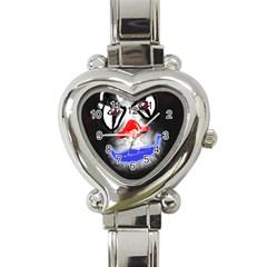 Sketch27420539 Heart Italian Charm Watch