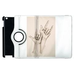 I Love You Apple Ipad 2 Flip 360 Case