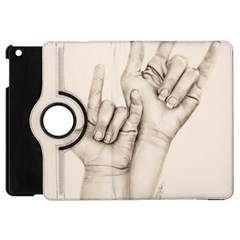 I Love You Apple Ipad Mini Flip 360 Case