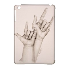 I Love You Apple iPad Mini Hardshell Case (Compatible with Smart Cover)
