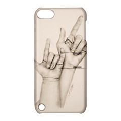 I Love You Apple Ipod Touch 5 Hardshell Case With Stand