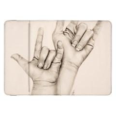 I Love You Samsung Galaxy Tab 8.9  P7300 Flip Case