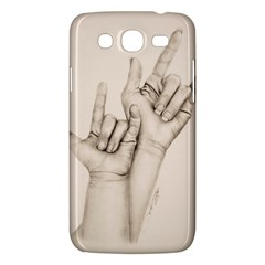 I Love You Samsung Galaxy Mega 5 8 I9152 Hardshell Case
