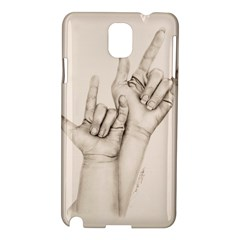 I Love You Samsung Galaxy Note 3 N9005 Hardshell Case