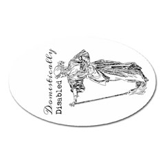 Domestically Disabled Magnet (Oval)