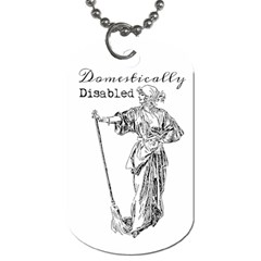 Domestically Disabled Dog Tag (two Sided)