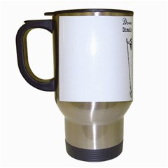 Domestically Disabled Travel Mug (White)