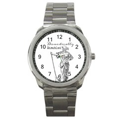 Domestically Disabled Sport Metal Watch