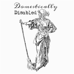 Domestically Disabled Canvas 16  x 16  (Unframed)