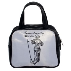 Domestically Disabled Classic Handbag (two Sides)