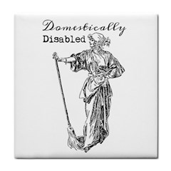 Domestically Disabled Face Towel