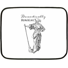 Domestically Disabled Mini Fleece Blanket (Two Sided)