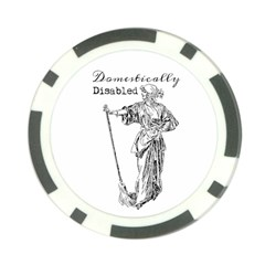 Domestically Disabled Poker Chip (10 Pack)