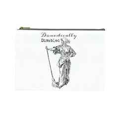 Domestically Disabled Cosmetic Bag (Large)