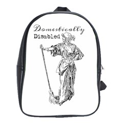 Domestically Disabled School Bag (Large)