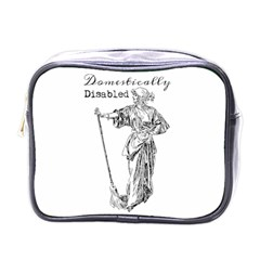 Domestically Disabled Mini Travel Toiletry Bag (One Side)