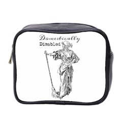 Domestically Disabled Mini Travel Toiletry Bag (Two Sides)