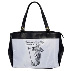 Domestically Disabled Oversize Office Handbag (one Side)