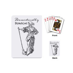 Domestically Disabled Playing Cards (Mini)