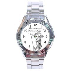 Domestically Disabled Stainless Steel Watch